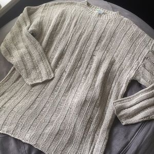 Neiman Marcus oversized silk vintage sweater XL
